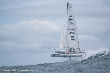 Yacht racing, dinguies, olympic sailing