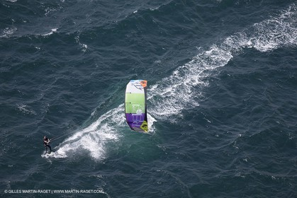 Kite Surf at Almanarre spot near Hyères (FRA,83) - 29 07 2014