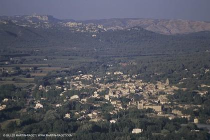 France, Provence, Village des Alpilles