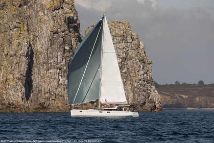 27 08 2016, Camaret-sur-mer (FRA,29), Chantier Bénéteau, Sense 57