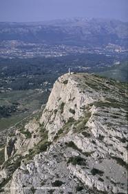 France, Provence, Pays d'Aubagne, collines de Marcel Pagnol, Garlaban