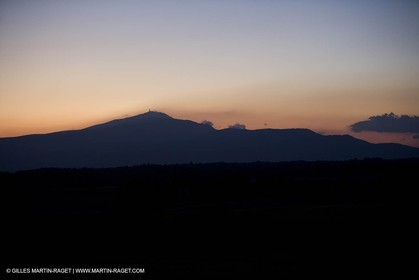 01 09 2007 - Mount Ventoux (FRA(84) - as seen from Sault plateau