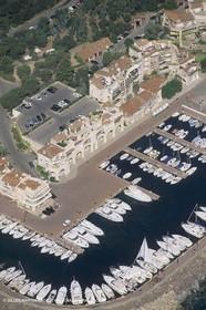 France, Provence, Côte d'Azur shores, port La galère