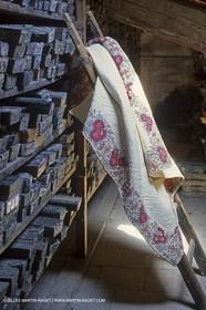 Boutis - cloths from Provence - Souleiado museum - Tarascon (FRA,13)