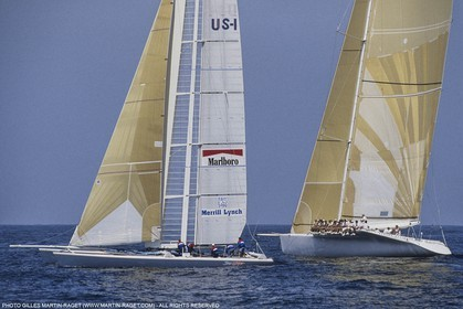 Sailing, Yacht Racing, America's Cup XXVII, San Diego (USA,CA) 1988, Stars & Stripes Vs New Zealand