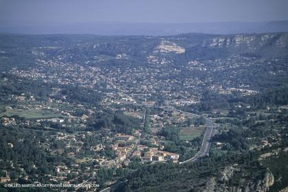 France, Provence, Pays d'Aubagne, collines de Marcel Pagnol, Roquevaire