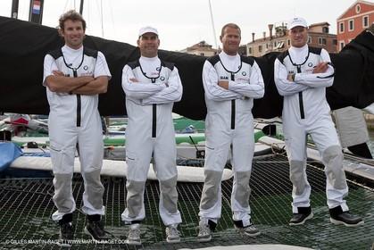 14 05 2009 - Venezia (ITA) -  BMW ORACLE Racing - Ishares Cup - Media day