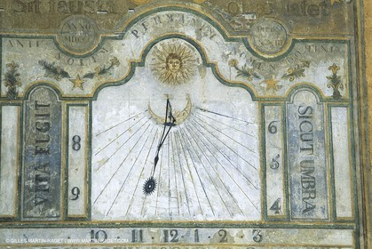 sundials, Southern Alps