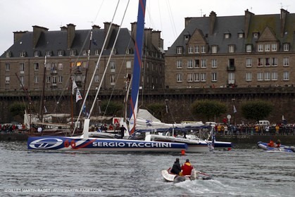 Route du Rhum 2002 - Saint Malo - ORMA 60' Trimarans Start