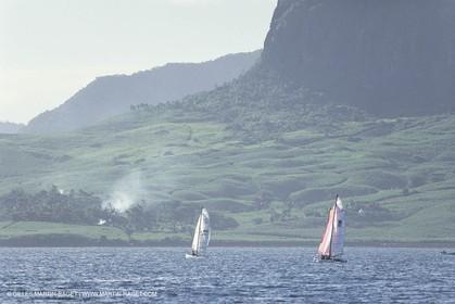 Sailing, dinghies, Round Mauritius Island Raid