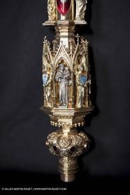 04 02 2013 - Marseille(FRA,13), Notre Dame de la Garde,liturgical silverware