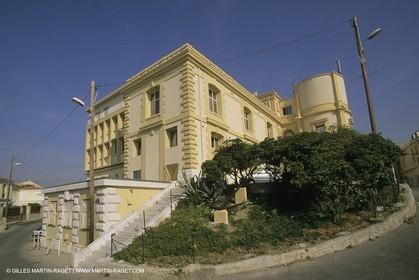 France, Provence, Marseille, Station Marine d'Endoume, centre de recherche Océacnographique