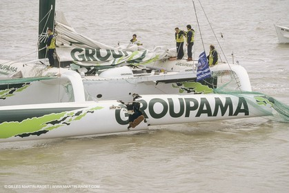 Yacht Racing, Multihull, ORMA 60, Franck Cammas, Groupama