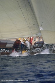 Classic Yachts, J Class, Velsheda, Regates Royales, Cannes (FRA,06)