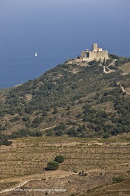 17 10 2011 - Vermeille Coast (FRA, 66) - Saint Elme fortress near Collioure