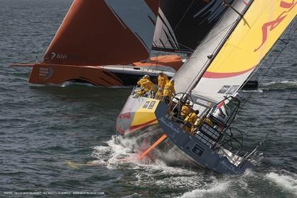 Volvo Ocean Race 2014-2015 - Abu Dhabi Ocean Racing - Team Alvimedica - Lisbon (POR) - 25 04 2014