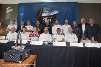 27 01 2009 - Auckland (NZL) -  Louis Vuitton Pacific Series - Draw for pairings