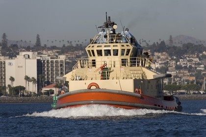 14 11 2008 - San Diego (CA, USA) - America's Cup - BMW ORACLE Racing - 90 ft trimaran sea trials - San Diego