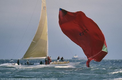 America's Cup, Fremantle 1987, French Kiss
