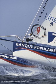 Yacht Racing, Multihull, ORMA 60, Lalou Roucayrol, Banque Populaire IV