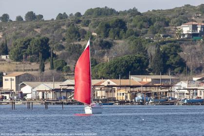 28 01 2016, Sète (FRA,34), Cruising on Thau Basin, Bouzigue