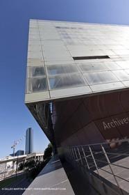 09 06 2012 - Marseille (FRA,13) - Euromeditérranée neighborood - Departemental archives Builgin Gaston Deferre