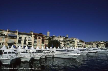 Cannes Old Port - Cruising Boat Festival.
