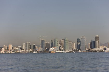 07 10 2008 - San Diego (CA, USA) - America's Cup - BMW ORACLE Racing - 90 ft trimaran sea trials - San Diego session - Day 1