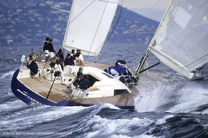Sailing, Classic yachts, Niouargue 1994, Saint-Tropez (FRA)