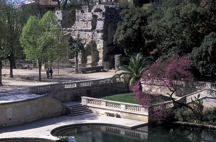 Nîmes - Fountain garden