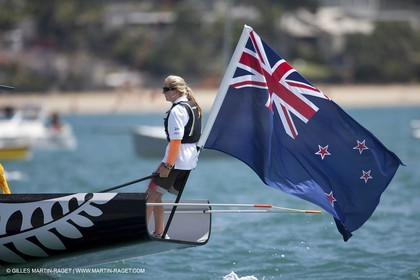 01 02 2009 - Auckland (NZL) -  Louis Vuitton Pacific Series -  Racing Day 3 - Round Robin 1