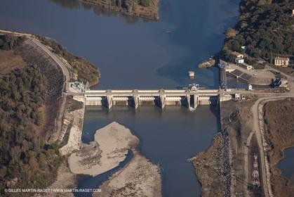 29 10 2012 - Val de Durance (FRA, 84) - Cadarache barrage