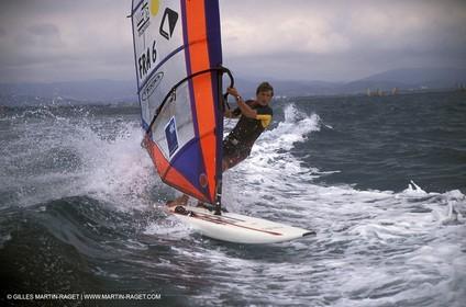 2004 Hyeres Sailing Week (SOF) - Mistral Men - Julien Bontemps
