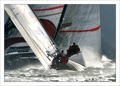 AC 2003 - Oracle BMW Vs Alinghi