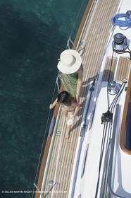 Sailing, cruising, people, Children onboard
