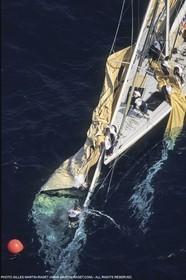 Sailing, Yacht Racing, America's Cup XXVIII, San Diego (USA,CA), 1992, Stars and Stripes