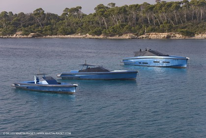14 10 2008 - Cannes (FRA, 06) - Super yachts - motoryachts - Wally yachts - Wallypower 64 - Wallypower 48 - Wally tender