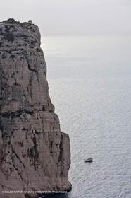 20 03 2009 - Marseille (FRA, 13) - Les Calanques - Castelviel cliffs