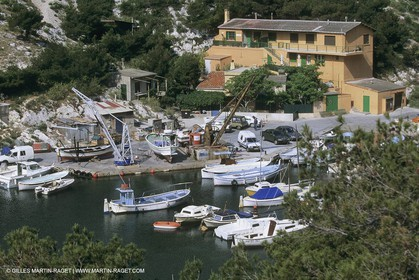 France, Provence, Les Calanques & Iles de Marseille, Morgiou