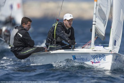 12 04 2015, Marseille (FRA), Yachting Club de la Pointe Rouge - Coupe Internationale de Printemps des 470, Final Day