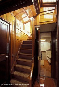 Interiors - Classic yachts - Kentra