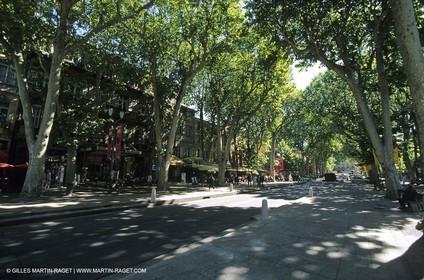 Aix en Provence - Cours Mirabeau