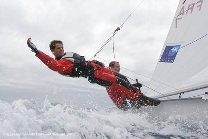07 03 2008-Marseille (FRA, 13) Nicolas Charbonnier Olivier Bausset training