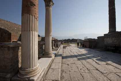 24 02 2012 - Naples (ITA) - 34th America's Cup - America's Cup World Series Naples 2012 - Naples Preview - Pompei roman ruins