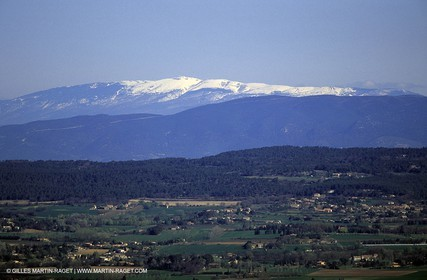 Trevaresse hills - Luberon - Mount Ventoux