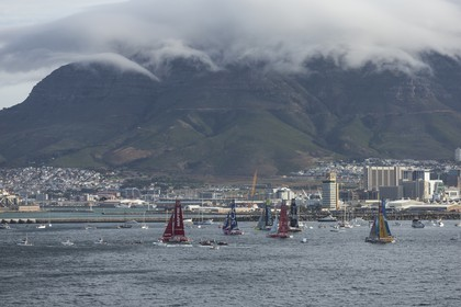 19 11 2014, Cape Town (ZAF), Volvo Ocean Race 2014-15, Team Alvimedica, Start Leg 2