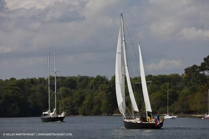 19 05 2010- Benodet (FRA,56)  -  Pen DuickII  sailing in Odet river