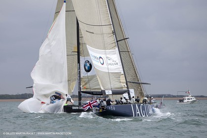 06 08 2010 - Cowes (UK, IOW) - The 1851 Cup -  BMW ORACLE Racing - Day 4.