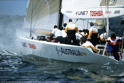 America's Cup - Auckland 2000 - Young Australia 2000