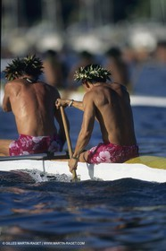 Destinations, French Polynesia, Traditinal Canoeing